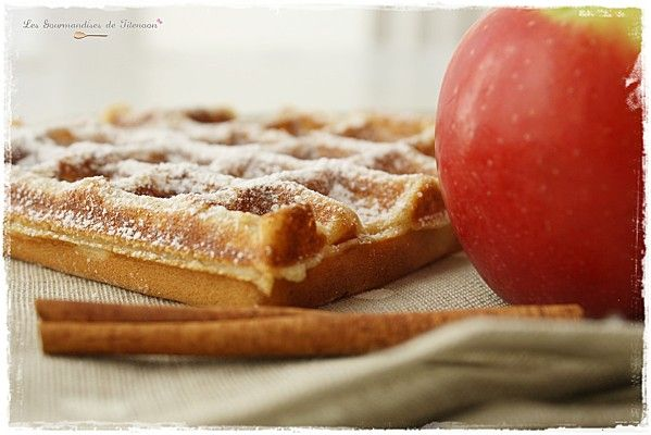 Gaufres Pomme Canelle