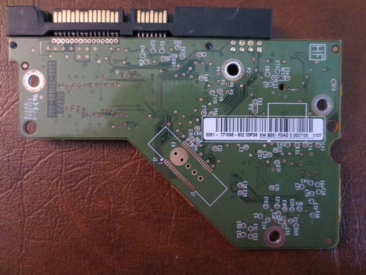 Western Digital Wd30ezrs 11j99b0 2061 771698 802 05pd8 Dcm Hard Drive Circuit Board Pcb Boards Printed Dcmharchv2ca