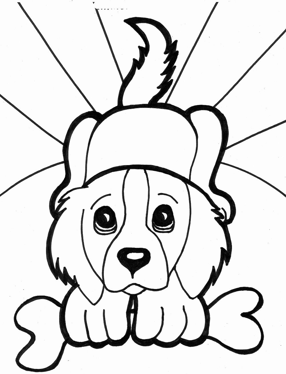 Coloring Pages Of Puppies Inspirational Printable Dogs Coloring Pages To Kids Puppy Coloring Pages Dog Coloring Page Animal Coloring Pages [ 1307 x 1000 Pixel ]