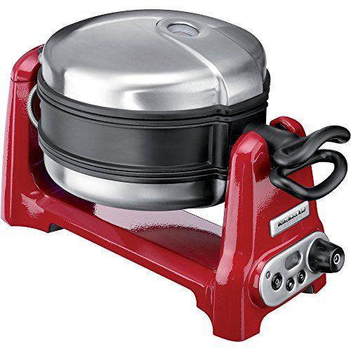 Kitchenaid Artisan-Waffeleisen in rot - Damit backen wir Waffeln - kitchenaid küchenmaschine rot