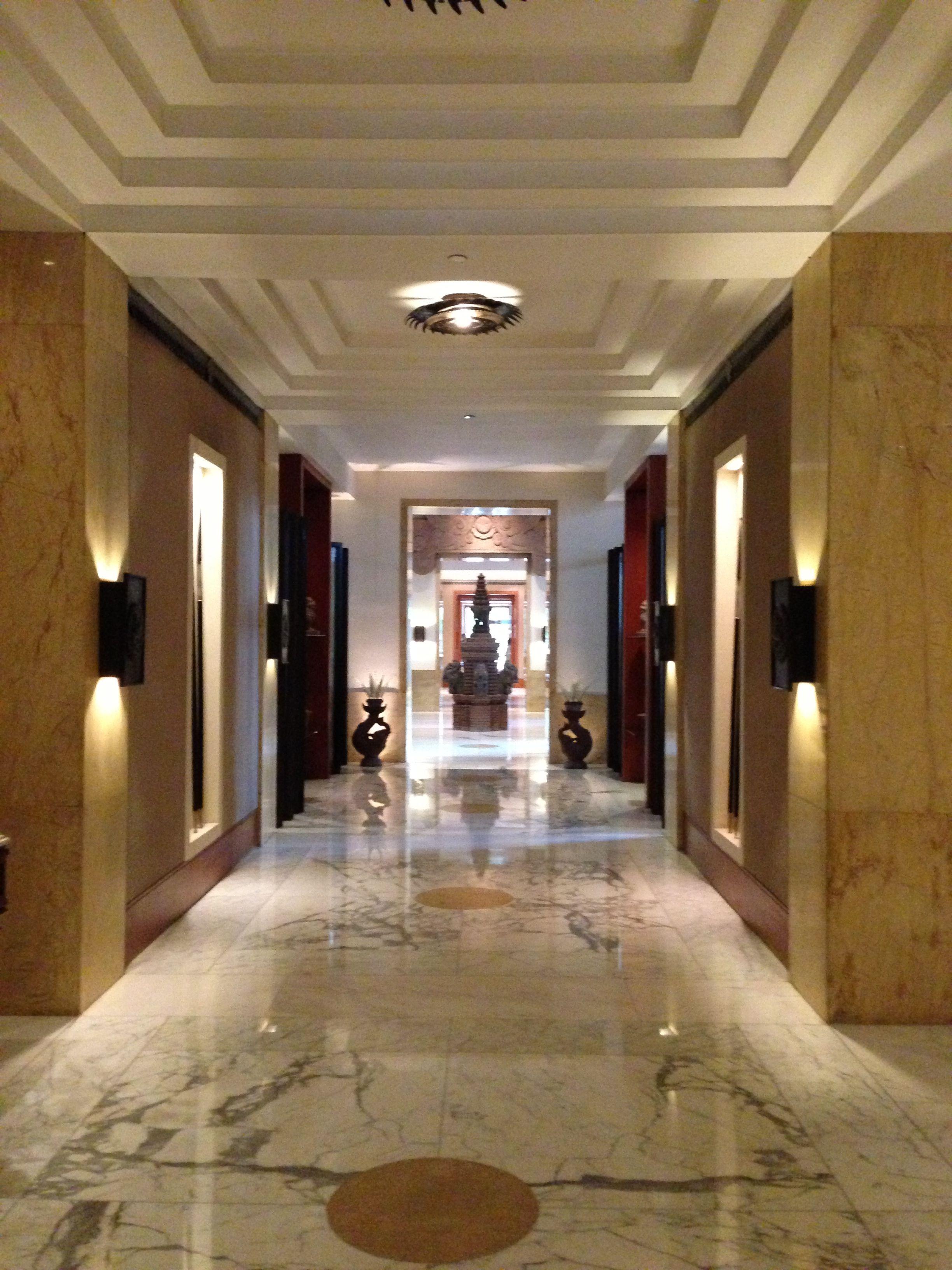 Lobby Corridor Darmawangasa Hotel Jakarta Lobby