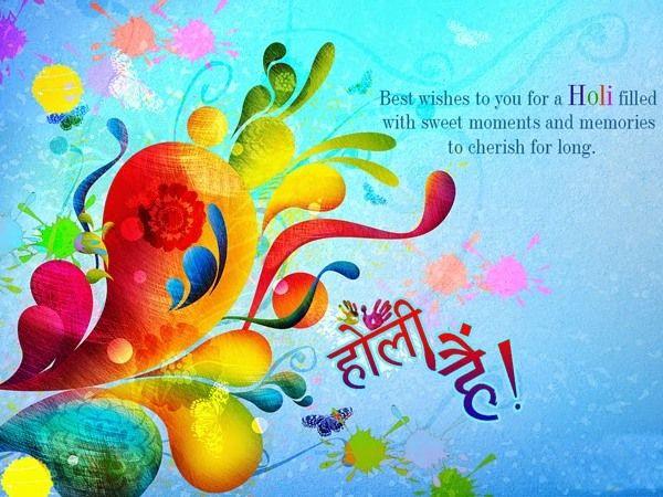 happy holi wishes english