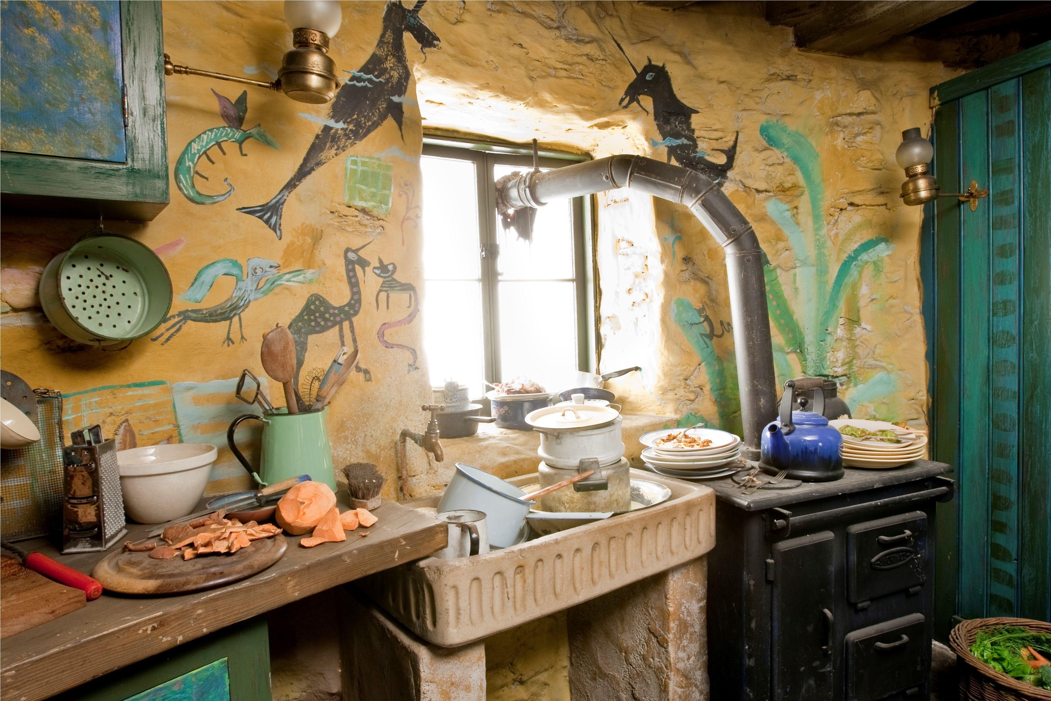 Harry Potter Lovegood S House Decor De Film Decoration