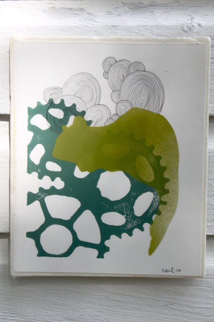 Stencil Squirrel With Cog By Earlbeadle Bike Part Art