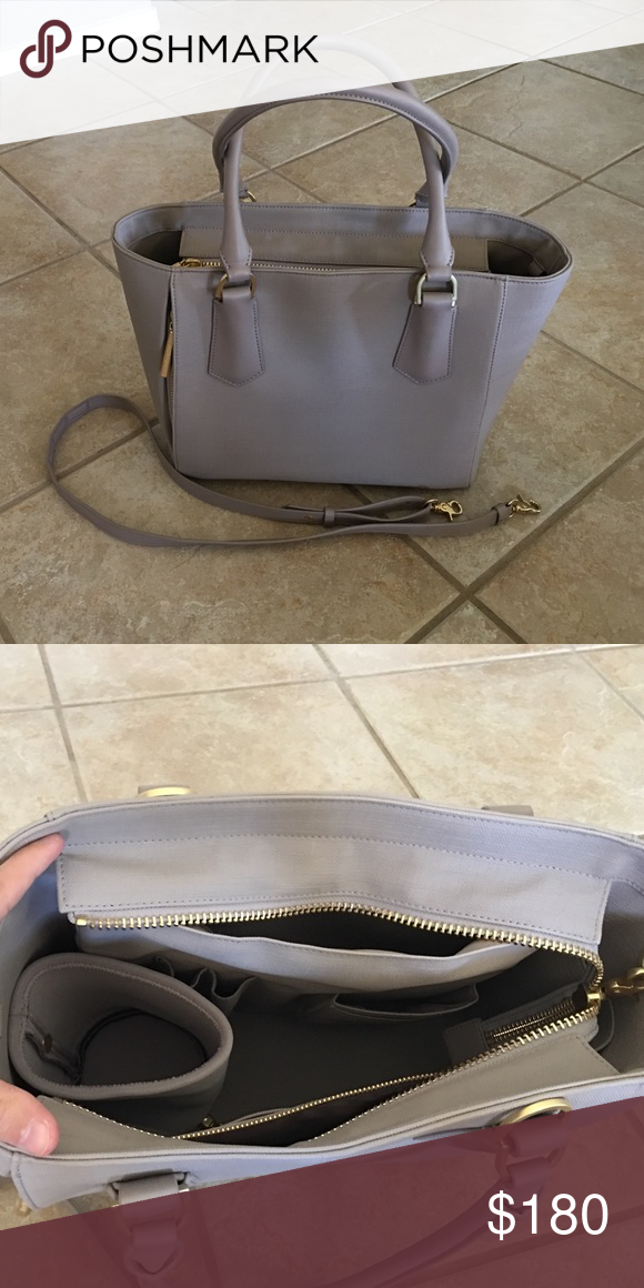 Dagne Dover Mini Tote in Bleecker Blush Perfect condition Dagne Dover Mini Tote in Bleeker. Cross body strap included. Dagne Dover Bags Totes