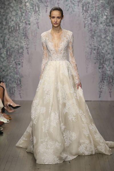 Monique Lhuillier Winslet Dress Wedding Dress Used Size 8