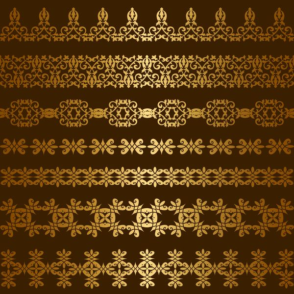 71f7a06116e0 Free EPS file Luxury golden seamless borders vector 02 download Name   Luxury golden seamless borders