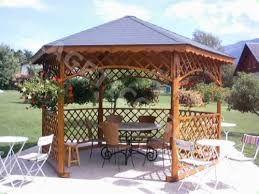 Resultado de imagen para kiosco de madera para jardin for Disenos de kioscos de madera