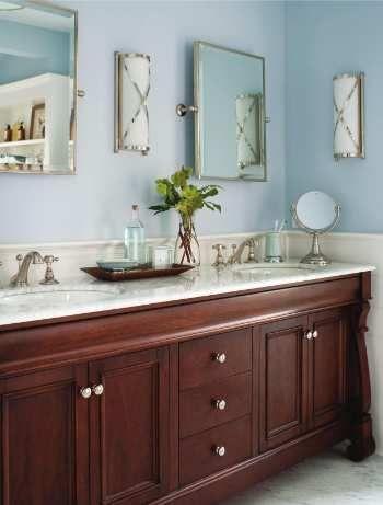 wall color cabinets countertop combo remodel ideas bathroom rh pinterest com