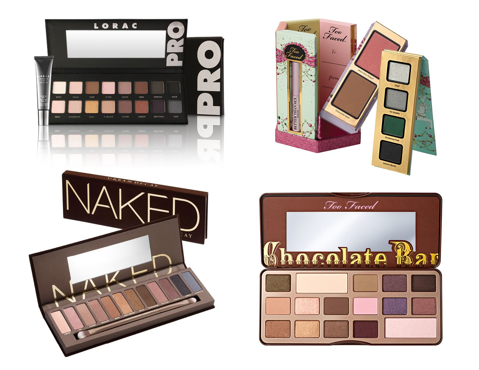 These are 4 #makeup #gift ideas for this #Christmas! My all time ...