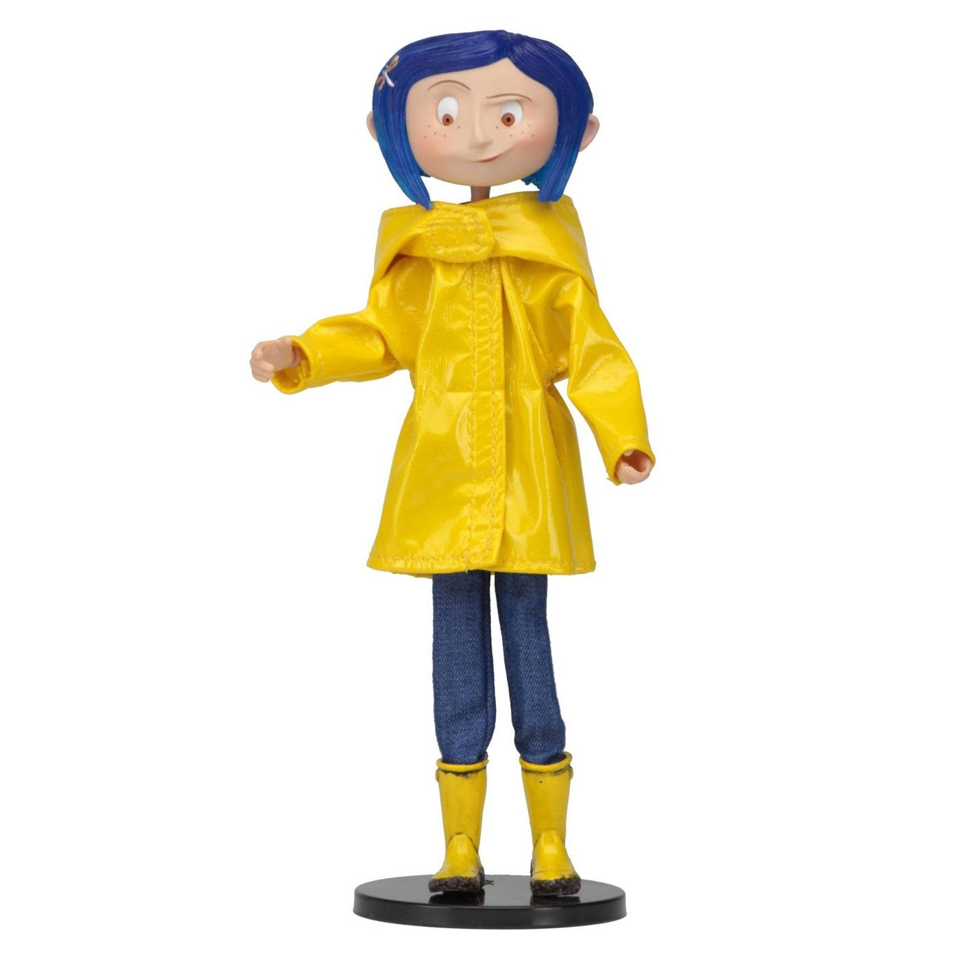 Coraline With Raincoat Boots Action Figure In 2020 Coraline Doll Coraline Raincoat