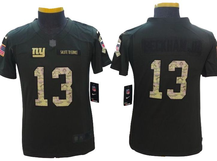 finest selection 0ff0c 2f178 New York Giants Jersey - YOUTH Odell Beckham Jr Salute To ...