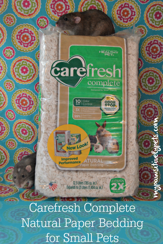Carefresh® Complete Natural Paper Bedding for Small Pets