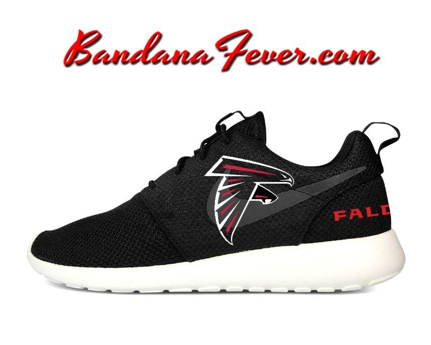 Custom Falcons Nike Roshe Run Men's Shoes BlackSail, #falcons, by  for sale