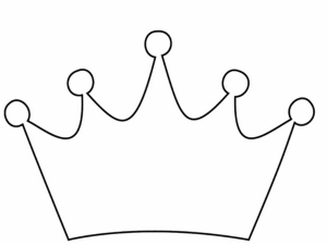 Crown Template Simple Crown Template Free Printable Papercraft Templates By Www Supercoloring Com Use The Crown Clip Art Crown Template Crown Outline