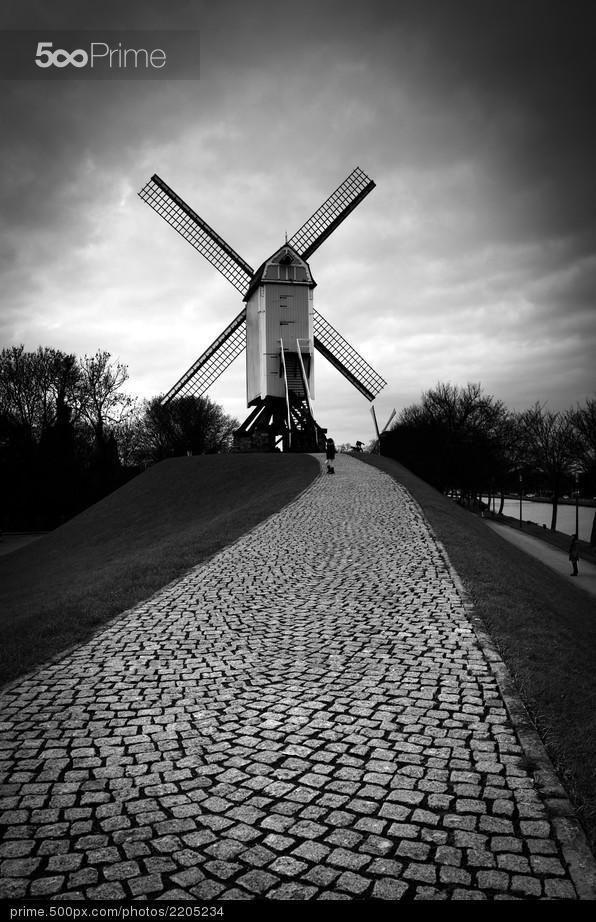 Bonne Chire Mill - stock photo