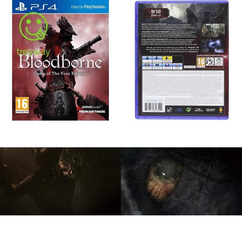 Bloodborne Game Of The Year Edition Ps4 Ps4 Gaming Video