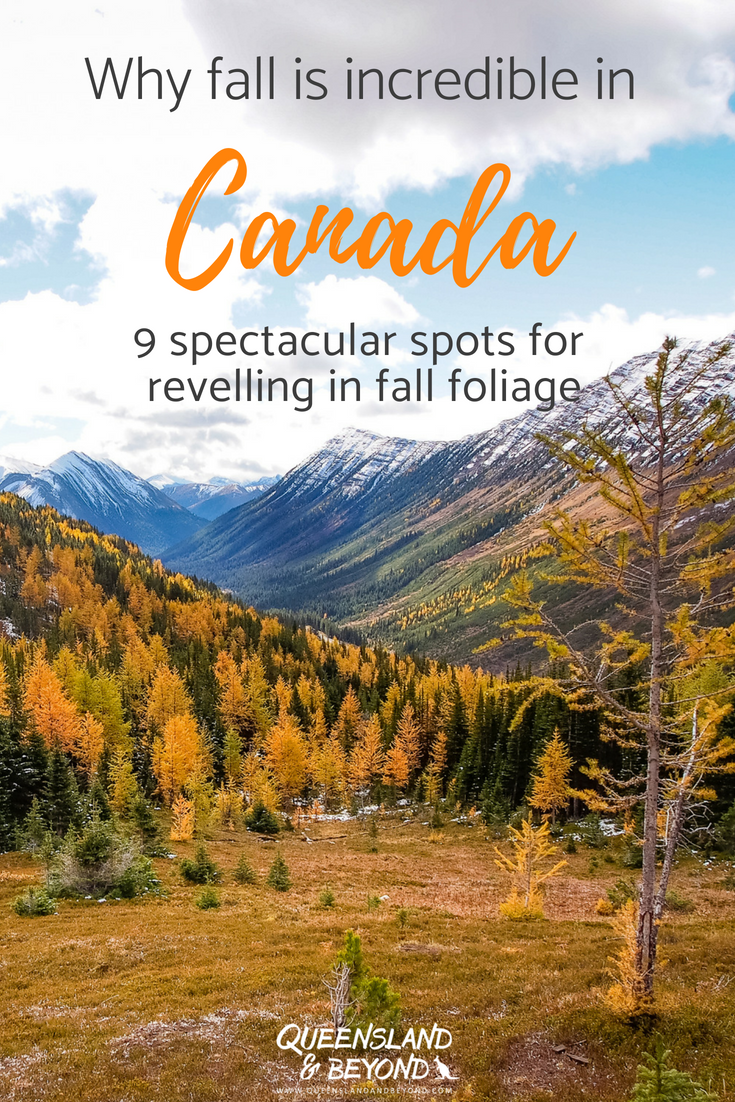 Incredible autumn in Canada: My favourite places #autumncolours