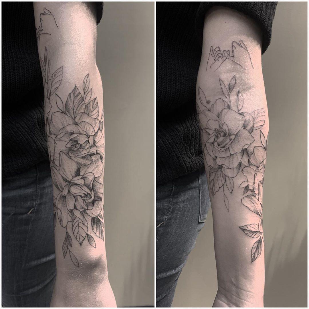 Some Gardenia Flowers For Alyssa Forearmtattoo In 2020 Forearm Tattoos Forearm Tattoo Tattoos