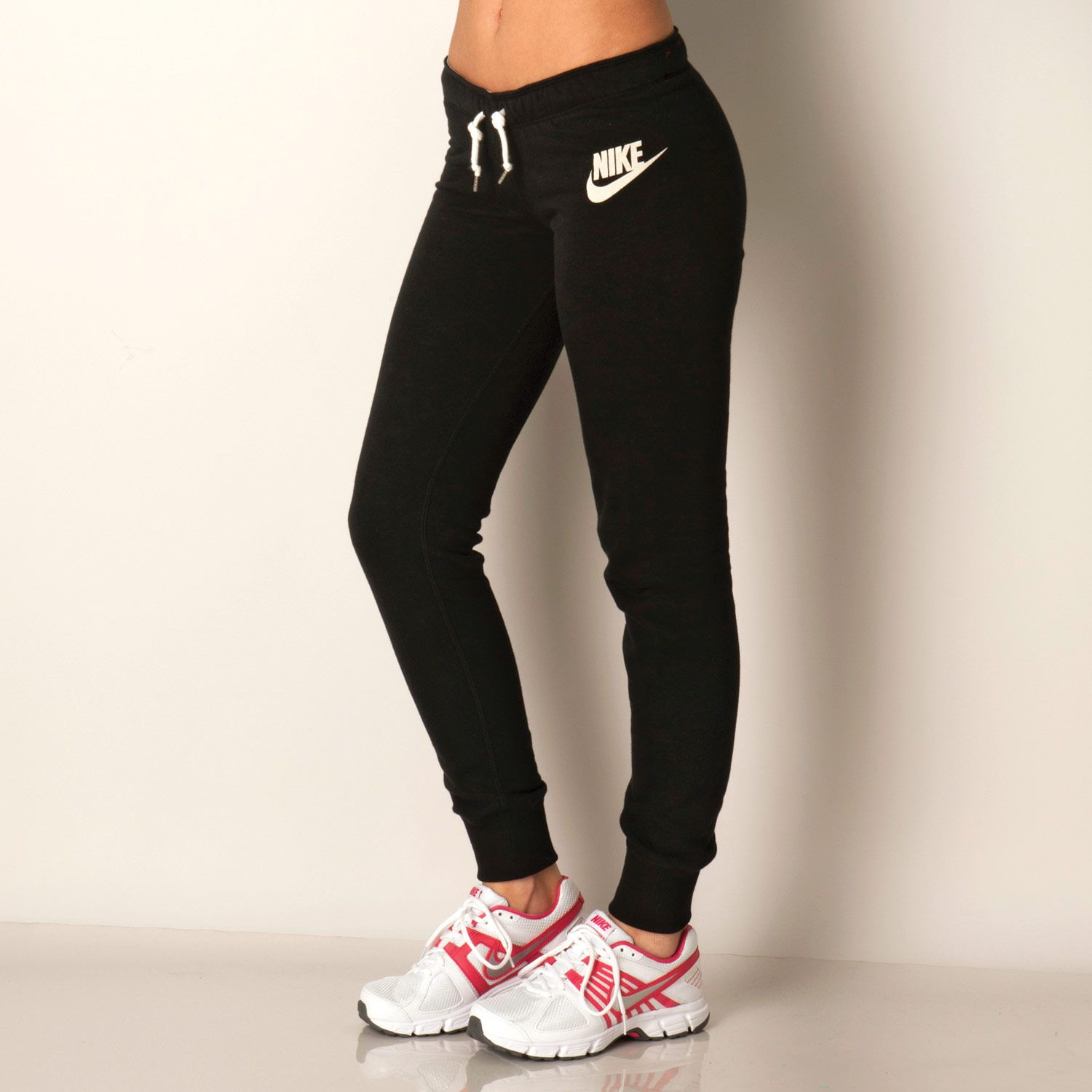 Women's Nike Womens Rally Tight Pants in Black - Designer Clothes At  Massive Discounts