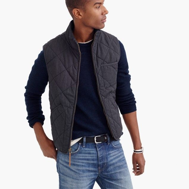 Sussex quilted vest | Pretty Dapper | Pinterest | Dapper : quilted vests for men - Adamdwight.com
