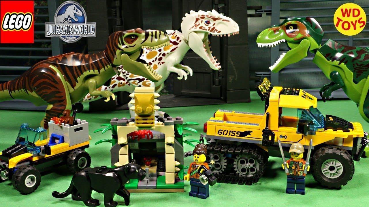 New Lego Indominus Rex Vs TRex City 60159 Jungle