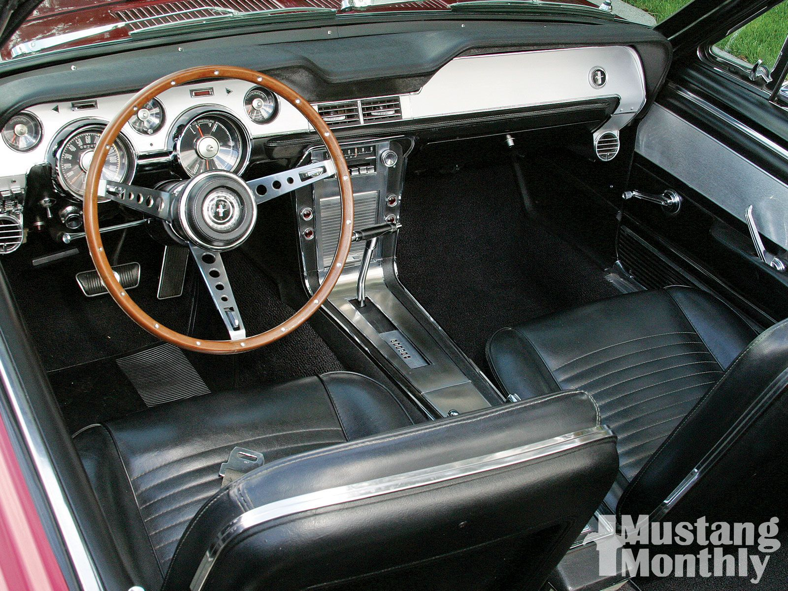 1967 ford mustang convertible interior - 1967 Ford Mustang Convertible Interior