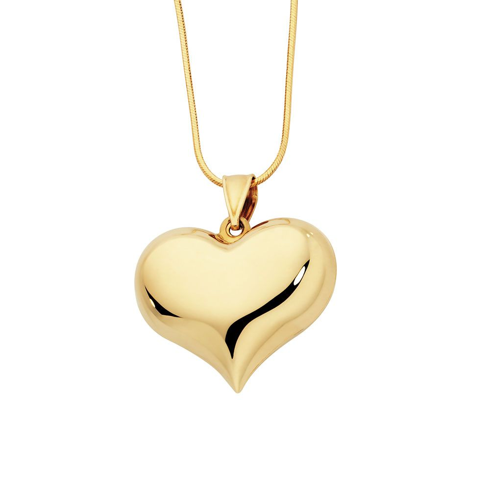 Heart pendant in 10ct yellow gold michael hill stuff to buy heart pendant in 10ct yellow gold michael hill mozeypictures Gallery