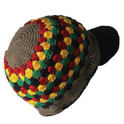 Rasta Kufi Hat Beanie Hat Cap Jah One Love Hawaii Jamaica Reggae ...