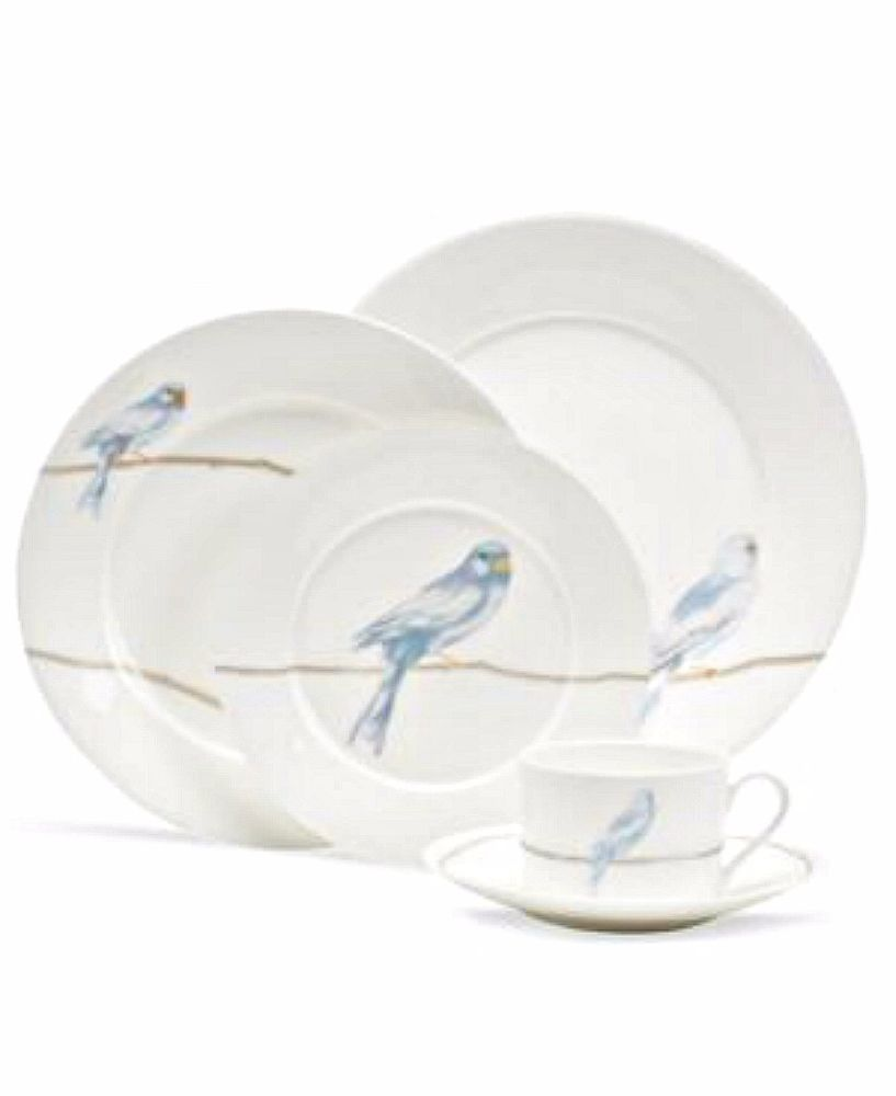 Martha Stewart Collection Dinnerware Sky Song 5 Piece Place Setting - BLUE Birds  sc 1 st  Pinterest & Martha Stewart Collection Dinnerware Sky Song 5 Piece Place Setting ...