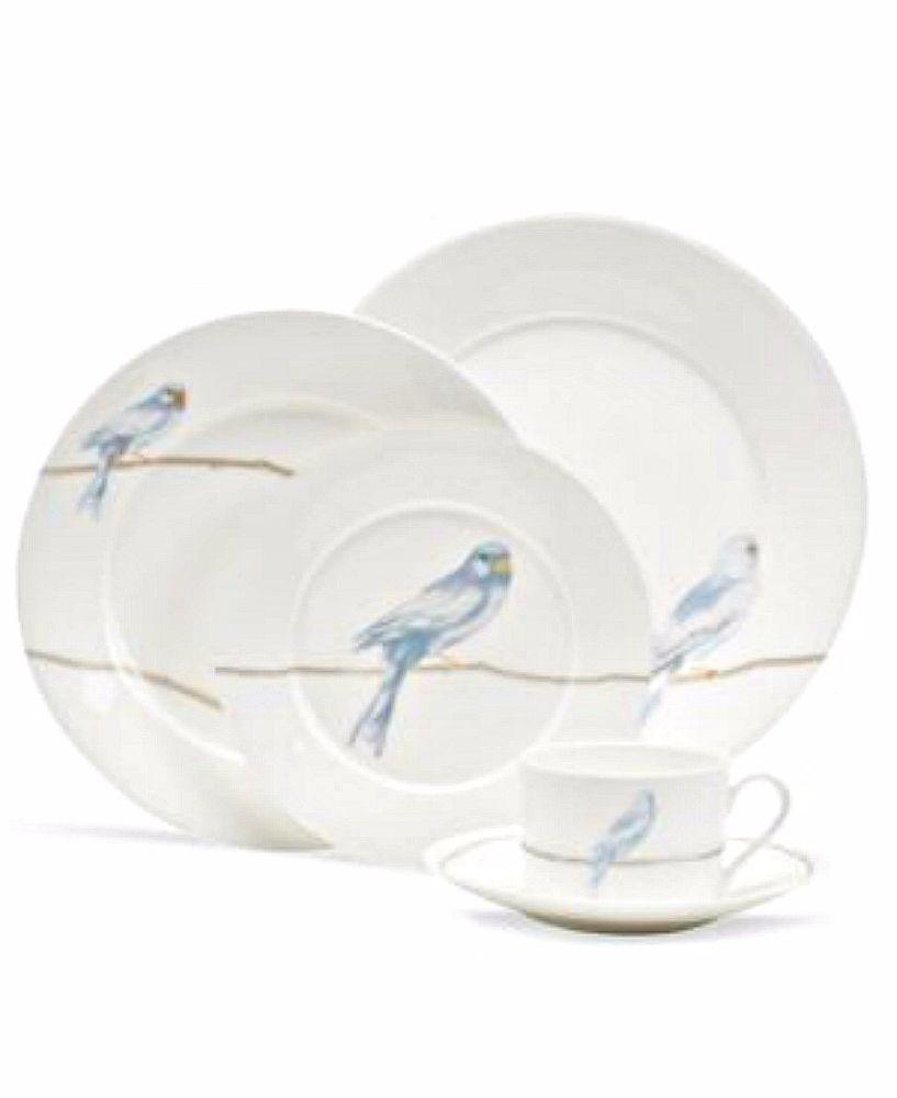 Martha Stewart Collection Dinnerware Sky Song 5 Piece Place Setting - BLUE Birds #MarthaStewart  sc 1 st  Pinterest & Martha Stewart Collection Dinnerware Sky Song 5 Piece Place Setting ...
