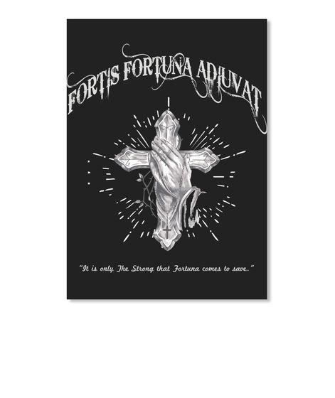 John Wick 2 Fortis Fortuna Tattoo Eu Black T Shirt Front