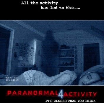 "My article on the trailer for ""Paranormal Activity 4."" #Examinercom"