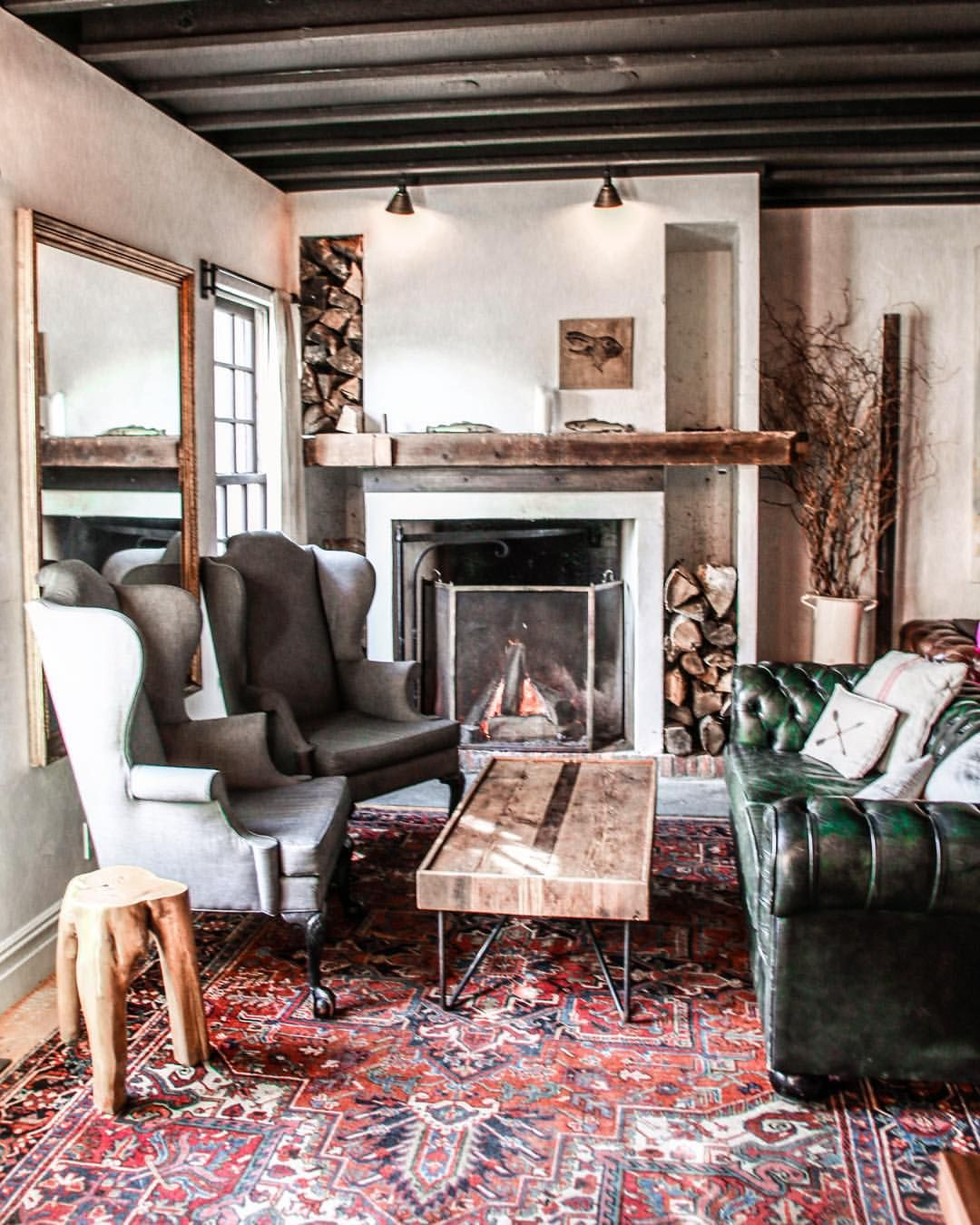"""a styling & creative company on Instagram """"cozy cabin"""