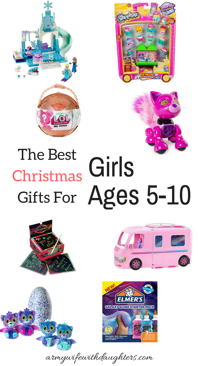 The Best Christmas Gifts For Girls Ages 5,10
