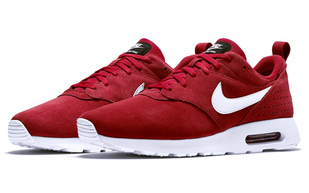 a7e12c81b1f7 Nike Air Max Tavas Suede  Gym Red  (via Kicks-daily.com)