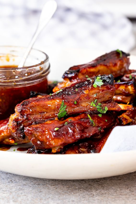 Photo of Easy sticky lamb ribs – Simply Delicious