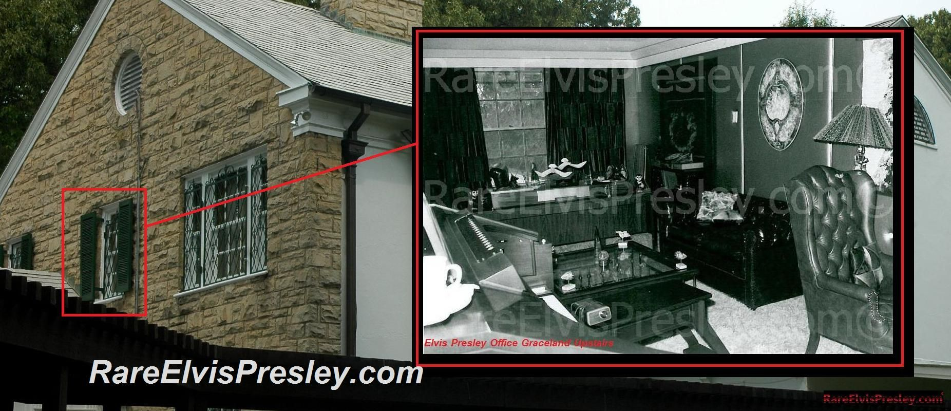 Elvis Presley Rare Photos Upstairs Graceland Page 2