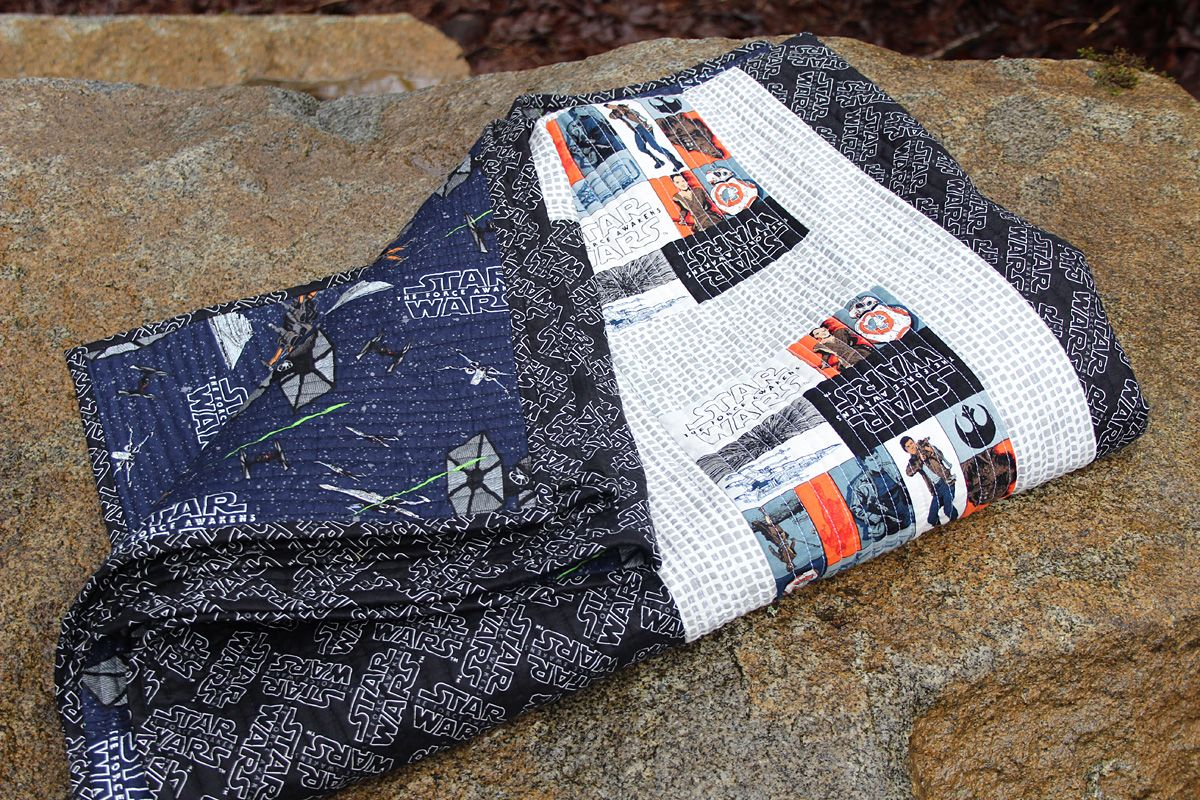 Fort Worth Fabric Studio Star Wars Quilt Quilts