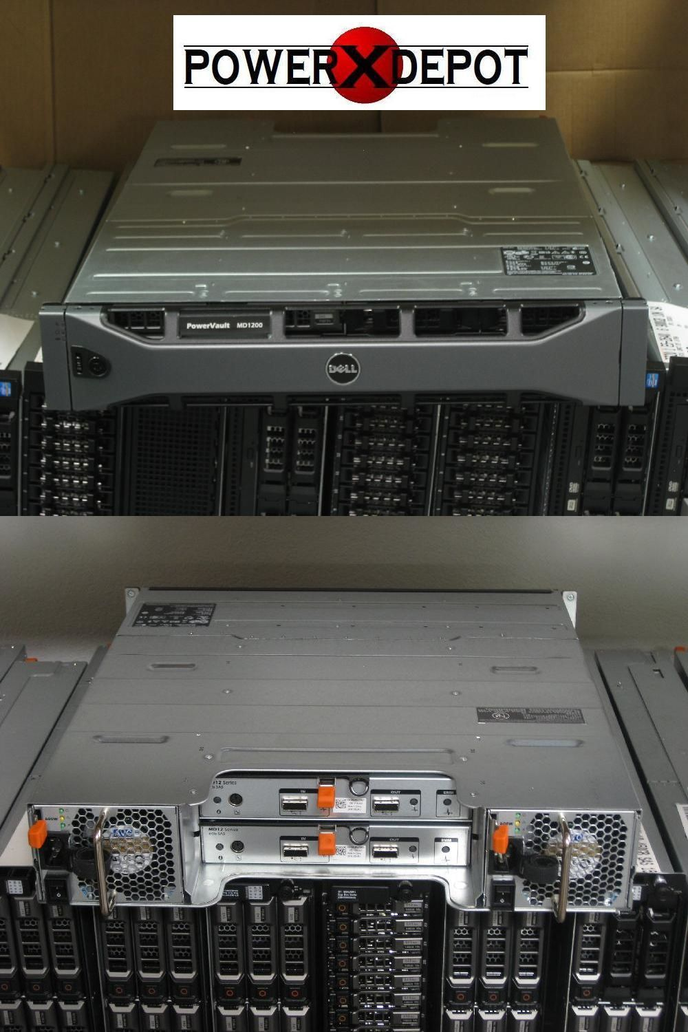 Nas Disk Arrays 64069 Dell Powervault Md1200 12 X 1tb Sas Dual Emm Dual Power Buy It Now Only 1625 On Ebay Arrays Powervault Power Ebay Sas Dual