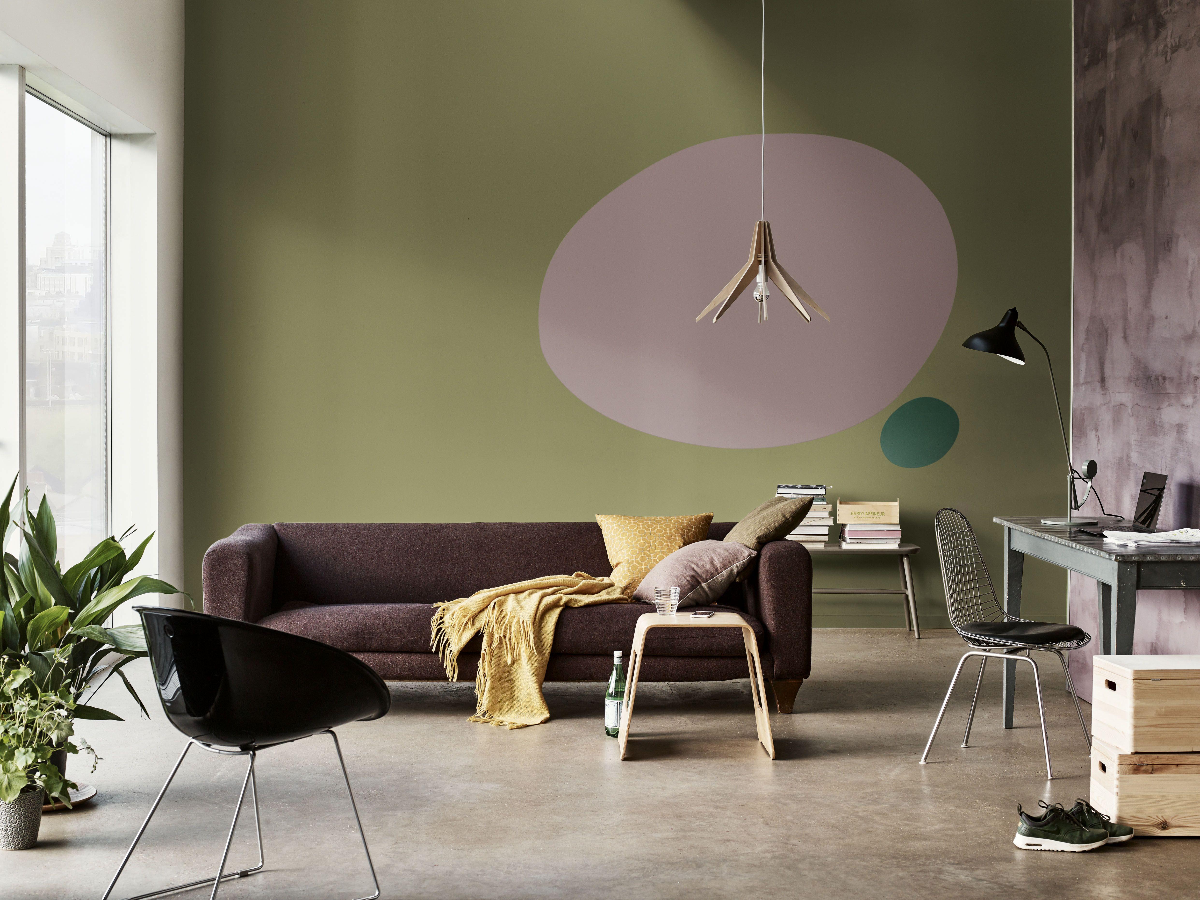 Kreative Wandgestaltung Mit Farbe Ideen Für Jedes Zimmer Das Haus Inneneinrichtung Wandgestaltung Wohnzimmer Farbe
