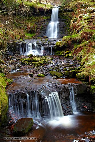 Blaen-y-glyn, Brecon Beacons National Park. Short break from Goytre Wharf to Talybont.