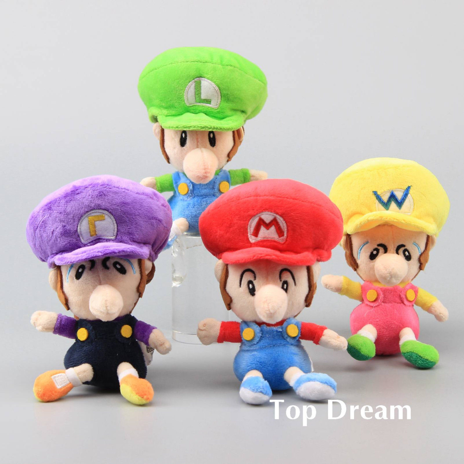 6 99 Gbp Super Mario Plush Soft Toy Doll Baby Mario Luigi