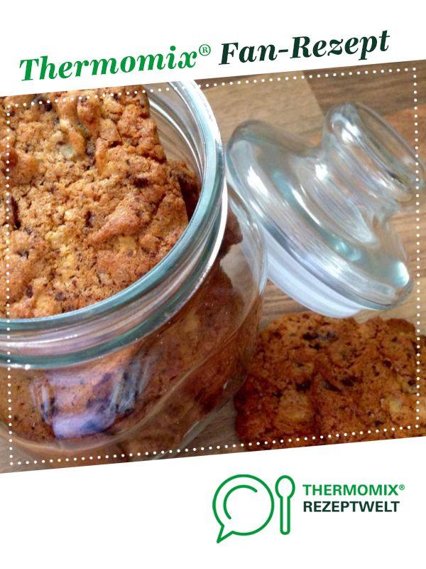 Schoko-Marzipan-Cookies