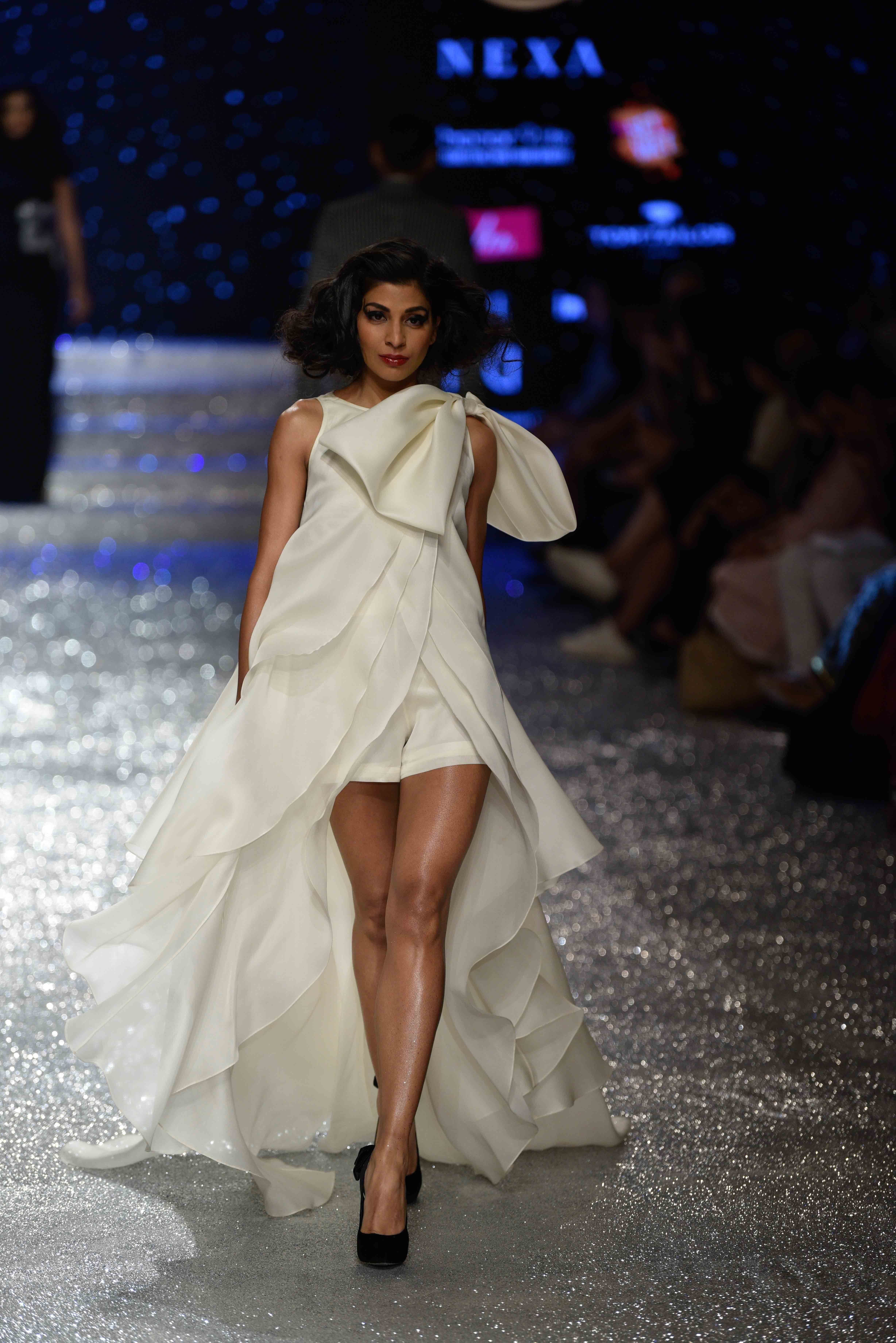 Gauri Nainika Ashish N Soni At Amazon India Fashion Week Autumn Winter 2018 India Fashion Week Fashion Week Fashion