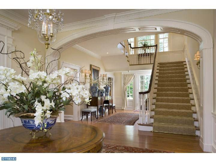Southern style......love this foyer