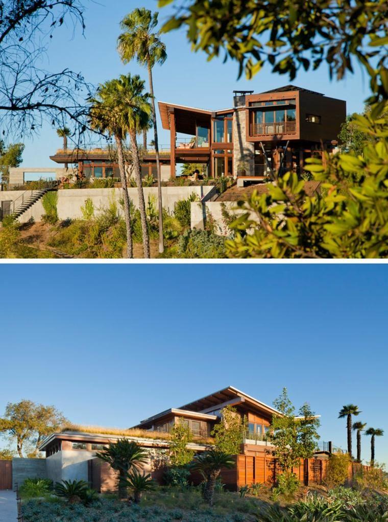 Luxushaus zwischen den Bergen von Santa Monica California, von KAA ...
