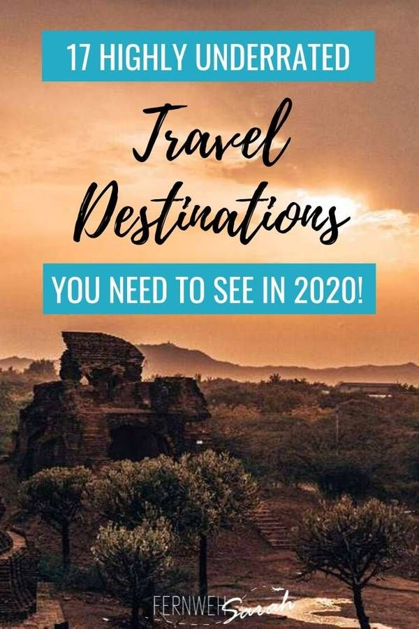 Unusual holiday destinations - Bloggers reveal their secret travel tips for 2020!