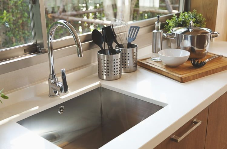 Types Of Kitchen Sinks Available In India Best Kitchen Faucets
