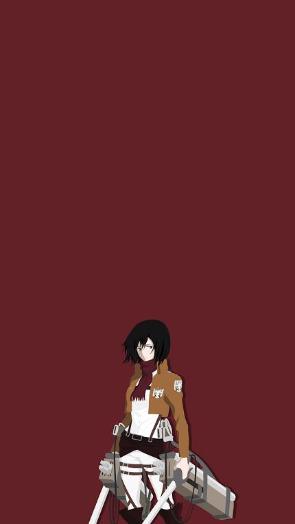 Anime Attack On Titan Character Mikasa Ackerman Attack On Titan Art Attack On Titan Anime Attack On Titan
